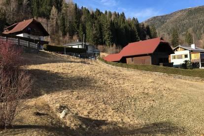 Baugrundstück in Bad Kleinkirchheim - Zentrumsnah und provisionsfrei