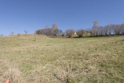 Ruhe pur!! Grundstück mit Panoramablick!!