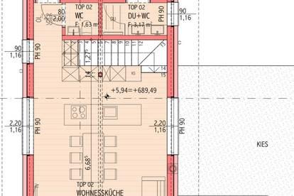 Neubau-Erstbezug Dachterrassenwohnungen mit Kaiser- und Hornblick