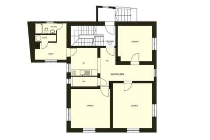3-Zimmerwohnung im EG (KEINE Maklergebühren )