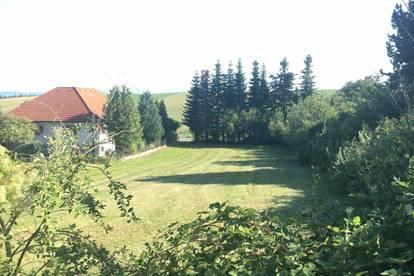 Ruhiges und sonniges Grundstück in der Windschnur in der Nähe zu Sankt Pölten zu verkaufen!