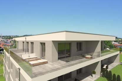 BAUSTART ERFOLGT !! Luxus Penthouse 70m2 Wfl. + 55m2 Dachterrasse XXL in herrlicher Aussicht und Ruhelage