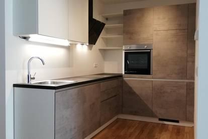 Kurzzeitmiete (mind. 1 Monat - max. 6 Monate) - Möblierte 2-Zimmer Neubauwohnung (mit Loggia)