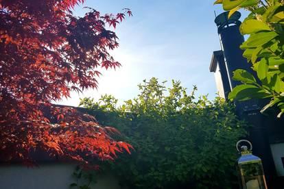 Ihre neue Wohlfühloase: Provisionsfreie Dachgeschoss-Maisonette mit wunderschöner, begrünter Dachterrasse