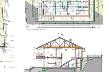 Wunderschöne Gründstück mit Bauplan für Einfamilien Haus