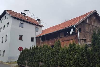Historisches Einfamilienhaus mit Stadl und großem Garten