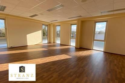 Lichtdurchflutete Büroflächen - flexibel teilbar: ab 24m2 bis 543m2)
