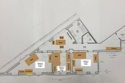 WG-Zimmer in schöner, modernen und geräumige 3-Zi Wohnung