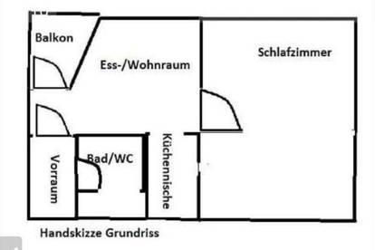 Garconniere 31m2 Innenstadt Burggasse Dachterrasse 432,78€/Monat MIETERIN