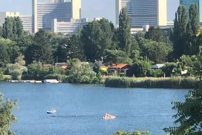 Urlaubsfeeling an der alten Donau