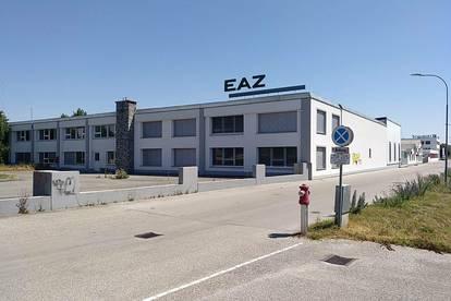 Flexible Teilflächen: Betriebshallen mit Heizung inkl. Büros und Schauraum in Obergrafendorf