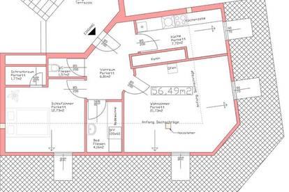 Provisionsfreie Wohnung nahe Lendplatz mit Holzofen zu vermieten