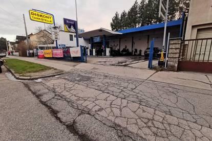 DB IMMOBILIEN | KRISENSICHERES BUSINESS ZUM ÜBERNEHMEN ! Tankstelle mit kleiner Werkstatt!