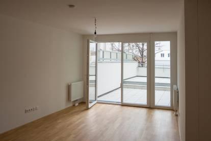 Traum Zweizimmer Wohnung — große Terrasse und U-Bahnnähe