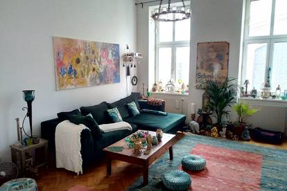 Wunderschöne, provisionsfreie 4-Zimmer Altbau-Wohnung direkt an der Leopolds-Kirche