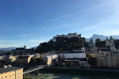 Einzigartige Wohnung mit Top Blick über Salzburg