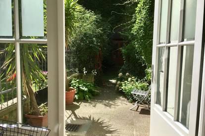 Toprenovierte Altbauwohnung mit Gartenbenützung, Innenstadtnähe