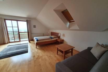 hochwertig ausgestattete hotelartige Zimmer mit Balkon/Terrasse