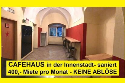 Café Pup in Judenburg Innenstadt - ABLÖSEFREI - Übernahme ab sofort