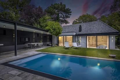 Exklusive Architektenvilla mit Pool in Toplage von Mauer