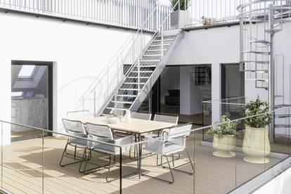 Exklusive DG-Wohnung mit Terrassen und Panoramablick Nähe Türkenschanzpark