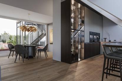 Exklusive Erstbezug DG-Wohnung mit zwei Terrassen Nähe Schönbrunn