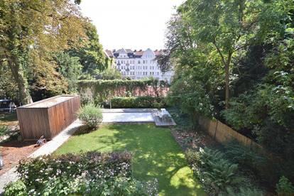 Charmante Altbauwohnung mit Balkon, Garten und Pool im Türkenschanzcottage