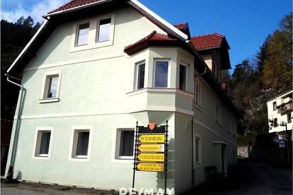 Wohnhaus mit 7 Wohnungen und Nebengebäuden in Friesach