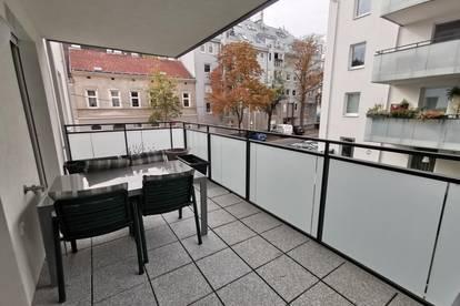 Helle, freundliche, (evtl. möblierte) 3-Zimmer-Wohnung mit großem Balkon - Grünruhelage