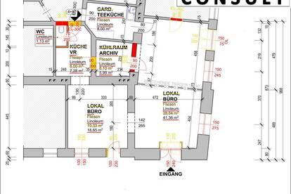 Eck-Lokal - Büro mit Platz für Ihre Ideen