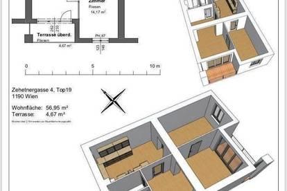 2,5 Zimmer Wohnung in 1190 Wien