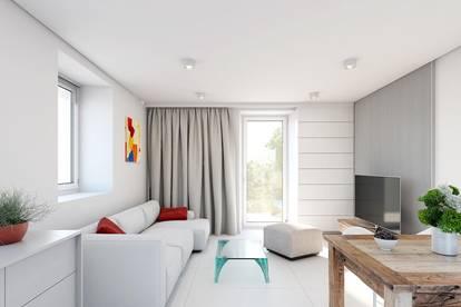 Moderne 4-Zimmer-Wohnung mit Fußbodenheizung, Balkon, Carport in zentraler Lage