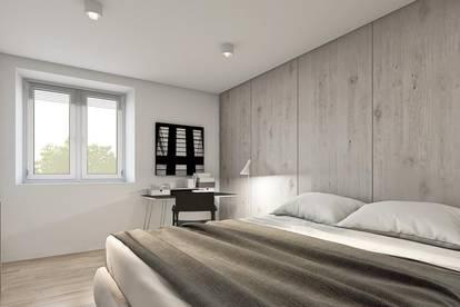 Moderne 2-Zimmer-Wohnung mit Fußbodenheizung, Balkon, Carport in zentraler Lage