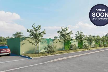 Garagen & Lagerflächen kaufen im Neubau Garagenpark Wels-Ost