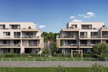 Neubauprojekt SCHLOSSPARK in Steinhaus bei Wels