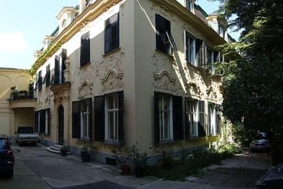 Provisionsfreie helle, ruhige 60m2 Wohnungmit Gartenblick in Helmer Fellner Villa