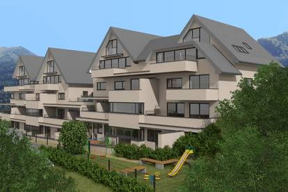 Erdgeschoss-Wohnung mit Garten/Terrasse über zwei Geschosse und Wolfgangseeblick-Provisionsfrei
