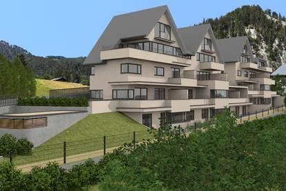 5 Zimmer Wohnung über zwei Stockwerke mit Seeblick und Garten/Terrasse