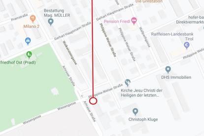Parkplatz in Innsbruck - Amras