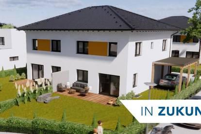 Doppelhaushälfte Schleißheim mit Garten und Keller - Erstbezug