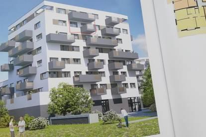 PROVISIONFREI - Schöne neue  2 Zimmer Wohnung,  Balkon , Erstbezug mit hochwertiger Küche -  Garage vorhanden