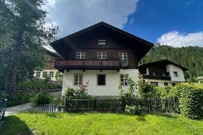 Kleines Einfamilienhaus im Pustertal zu verkaufen! Renovierungsbedürftig!