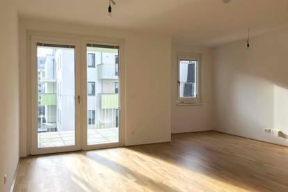 0€ PROVISION - ERSTBEZUG - 2-Zimmer-Wohnung mit Balkon UND Loggia - Direkt bei U1 Oberlaa
