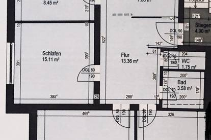 Super zentral gelegene sonnige Wohnung mit Blick auf Karren und Schweizer Berge, WG geeignet