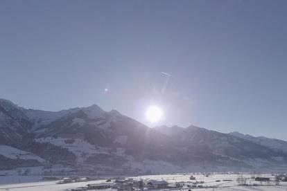 Traumblick des kitzsteinhorn gletsjer mit zweitwohnsitz widmung!