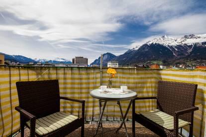 Über den Dächern von Innsbruck wohnen