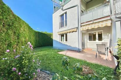 2 Zimmer-Erdgeschosswohnung mit Terrasse und Garten