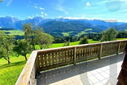 Bezauberndes Ferienhaus mit Zweitwohnsitz mitten in den Bergen mit traumhafter Aussicht zu mieten!