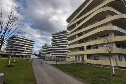 Green City in Graz-Straßgang - 58 m² - 2 Zimmer - 35 m² Balkon - Tiefgaragenplatz
