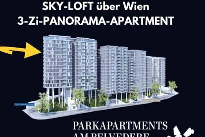 ⭐️⭐️⭐️ exklusiver Lifestyle über Wien - PANORAMA-APARTMENT am Belvedere - ERSTBEZUG - direkt vom Eigentümer